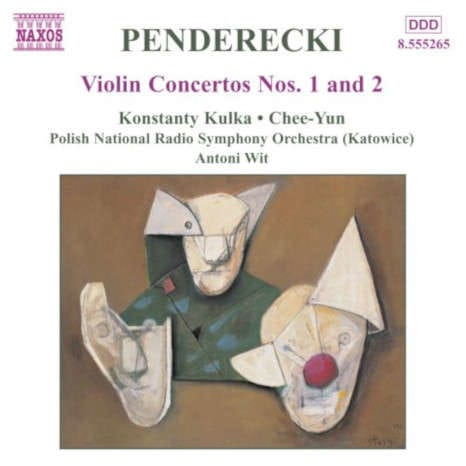 Penderecki Violin Concertos No. 1 & 2 album cover