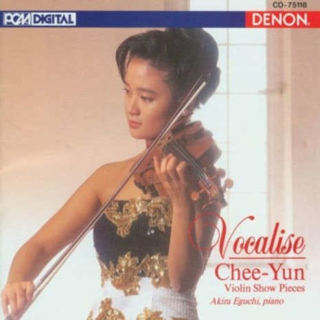 Vocalise: Violin Show Pieces album cover